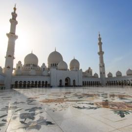 Wielki Meczet Sheikh Zayed w Abu Dhabi