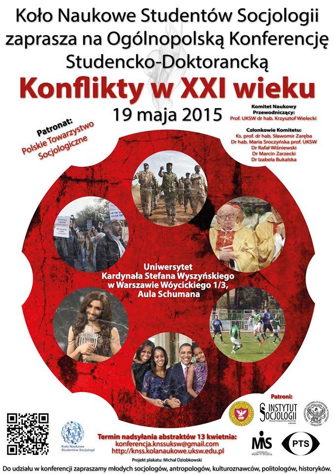 Konferencja Konflikty w XXI wieku