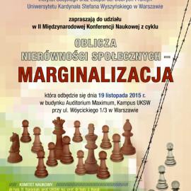 Konferencja Oblicza nierówności społecznych - marginalizacja