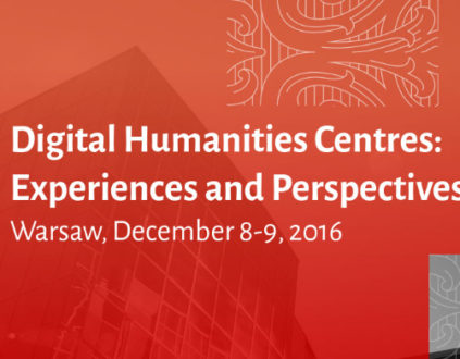Digital Humanities Centres: Experiences and Perspectives