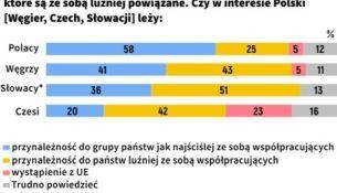 Polacy, Czesi, Słowacy i Węgrzy o członkostwie w Unii Europejskiej