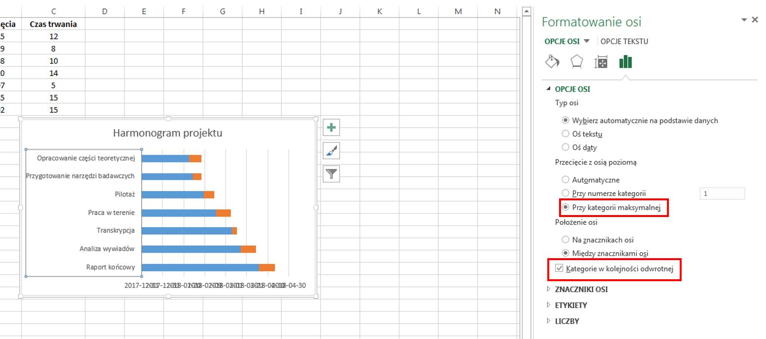 Jak stworzy wykres gantta w excelu mojasocjologiamojasocjologia jak stworzy wykres gantta w excelu ccuart Choice Image